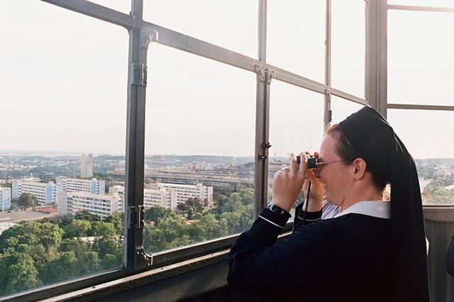 Binoculars Prague
