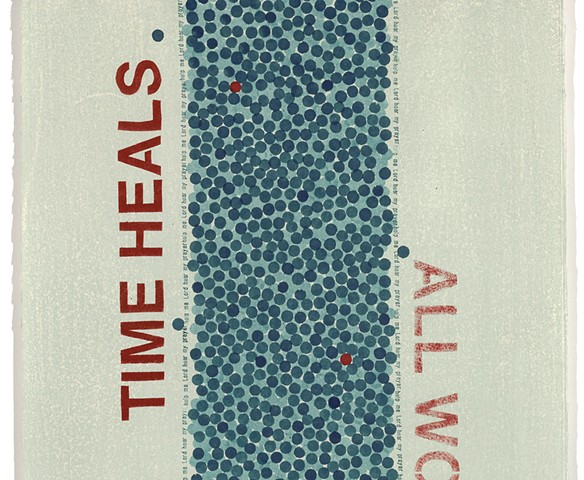 TIME HEALS – detail of previous image