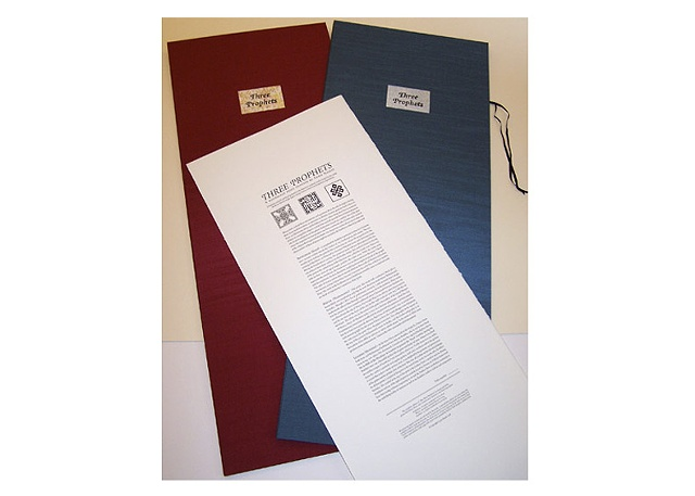 THREE PROPHETS FOLIO SET