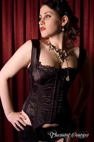 ... Couture - Lingerie Corset Model: Ophelia Photographer: Paul Hackett