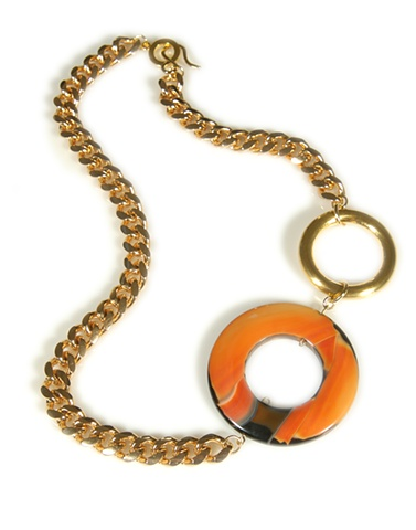 Holy Harlot Jewelry Fire Agate Necklace