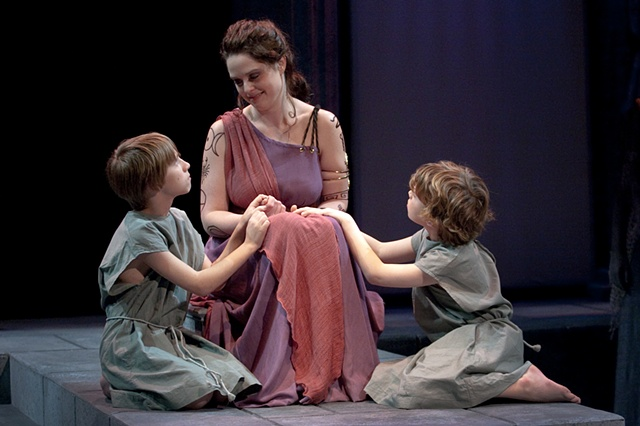 Medea and her sons.