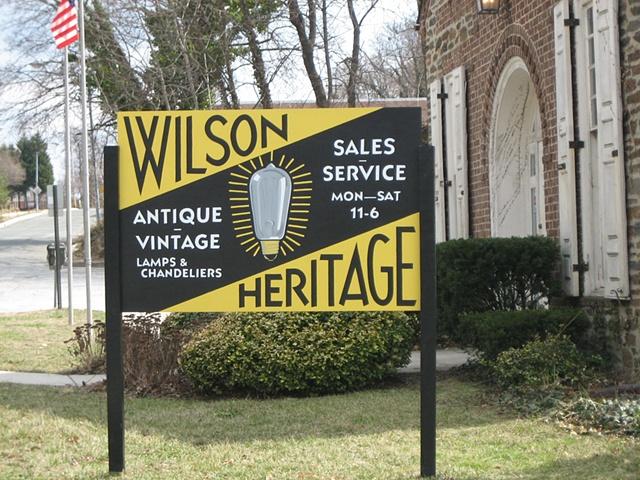 wilson heritage lighting