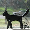 Black Cat jointed ornament