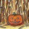 """""""Autumn Scene 1: Corn Patch"""""""