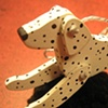 Dalmatian jointed ornament