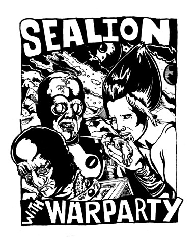 Sea Lion tour poster.