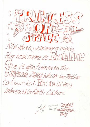 Princess of outer space story