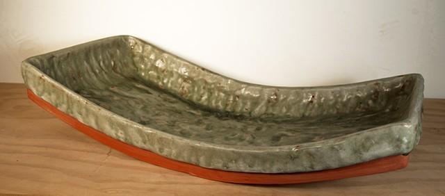 green platter