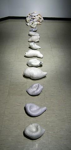 continuum stoneware with terra sigillata