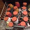 washing up pots