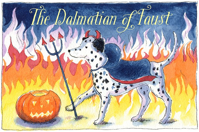 The Dalmatian of Faust (The Damnation of Faust)