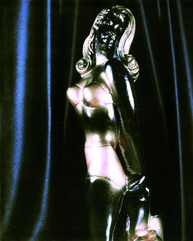 "Black Miss America 1940s Polaroid pinhole photograph 1 pinhole camera 2005 10""x8"""