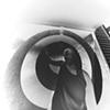 Nicole Santore (negative on paper) 160 degree wide angle pinhole camera 1999