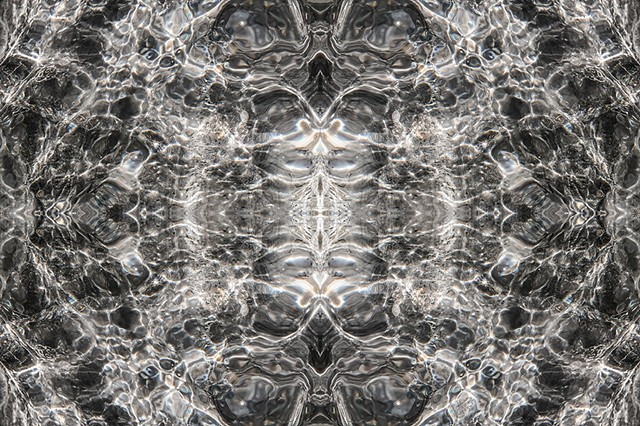 2014 Ice Catskill Mountain Winter Macro Photo Kaleidoscope Wallpaper