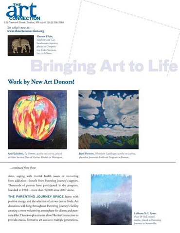 The Arts Connection Newsletter Spring 2016