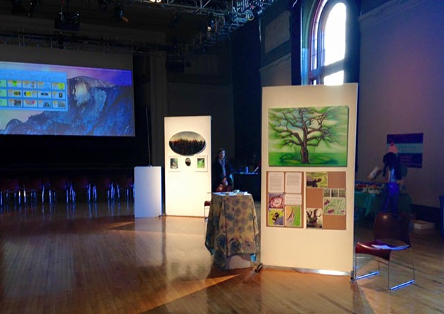 Green Arts Showcase at Mass College of Art