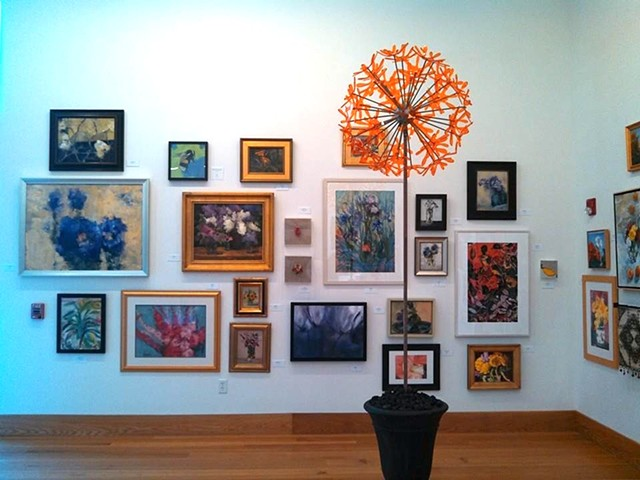 Behold the Blossom Wayne Art Center, Wayne Pennsylvania, National Exhibit March 2014