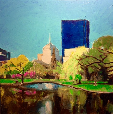 Cityscape (Boston Commons)