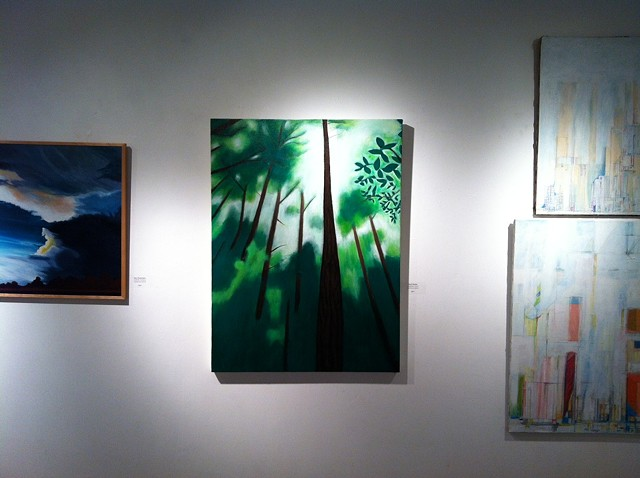 Horizons, California Forest at the Artist's Group of Charlestown