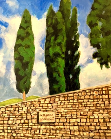 Cypress Trees, Assisi