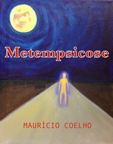 Book Cover for Brazilian Author Metempscicose by Maurício Coelho