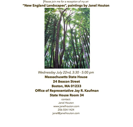 Invitation reception, Massachusetts State House
