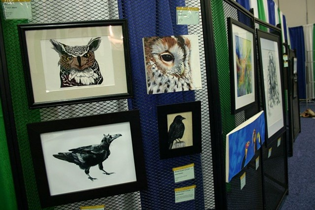 Midwest Veterinary Conference Art Show, Ohio, 2013, National Exhibit