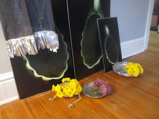Melissa Pokorny: May Day installation view  May 1, 2014