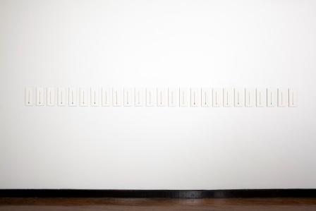 conceptual art with pencil, sculpture