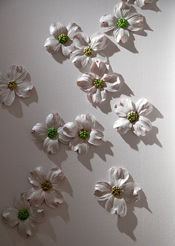 One hundred dogwoods (detail)