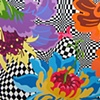 Crazy Land of Flowers 36x64