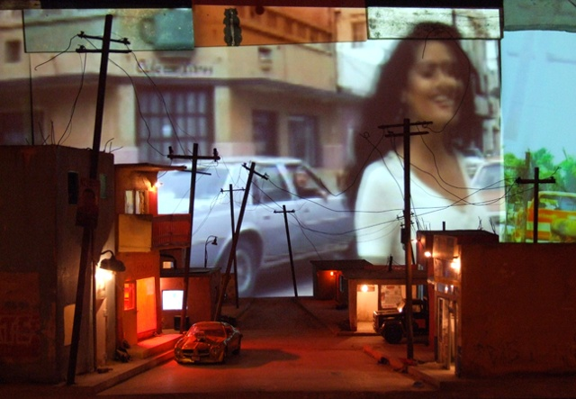 Bordertown installation at New Frontier, Sundance 2010