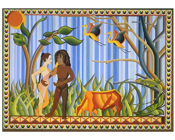 Adam and Eve Version #2