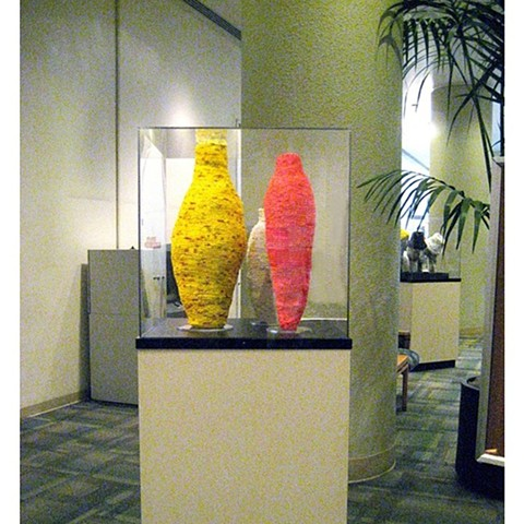 Alta Bates Installation Three Vessels Encased