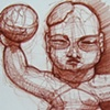 Aksen After: Olmec Baby with Ball