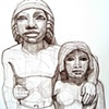 Ancient Egyptian Couple