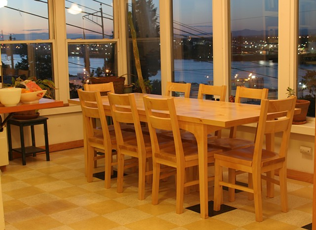 Birch Dining Set