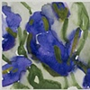 18 Blue Tulips ( Detail 1)