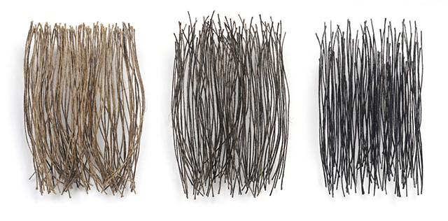Ziejka art, textile art, fiber art, linen