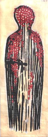tapestry, wall hanging, fiber art, ziejka