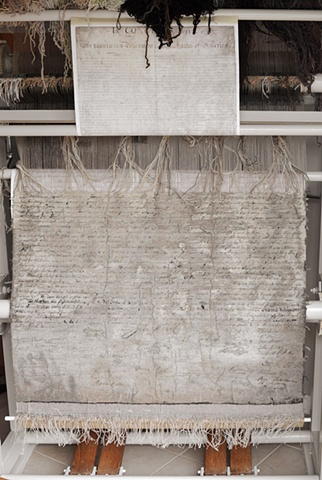 tapestry, wall hanging, declaration of independence, ziejka