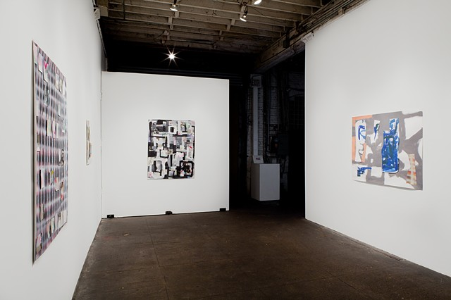 Drawings, Interventions (installation view)