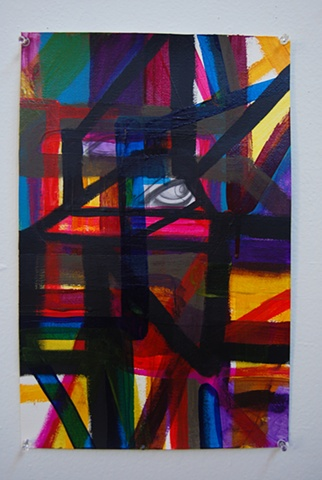 "Untitled (""Eyes Bound"")"