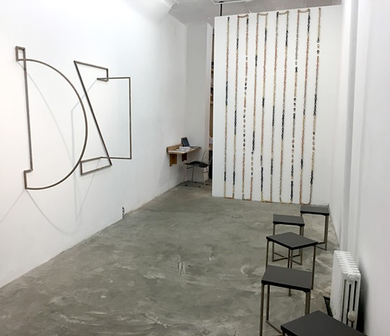 "Installation View ""Free and Not Yet"", Dutton Gallery"