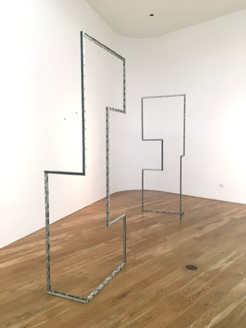 """BLINDSIGHT"" installation view at Samuel Freeman"
