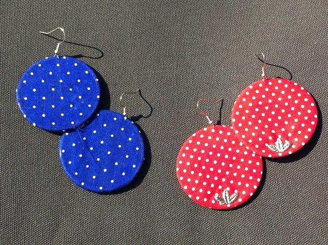 embroidery hoop earrings