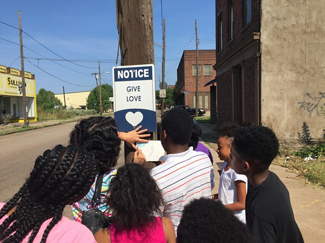 workshop, youth, Pittsburgh, Braddock,Excavating History