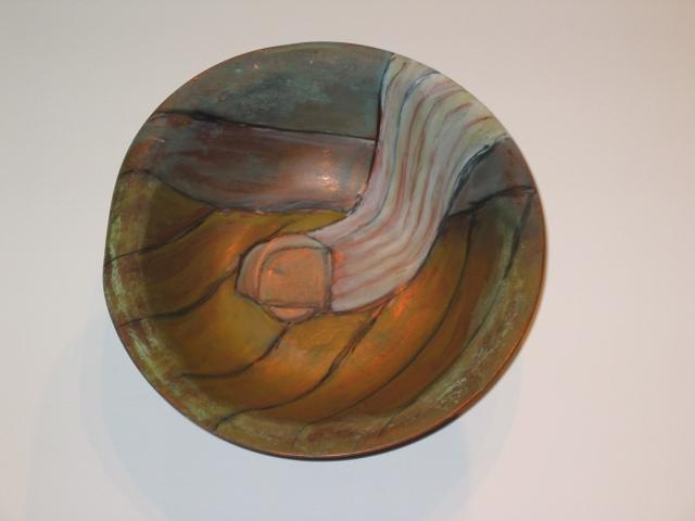 FRAGMENTS: Copper Bowl/Table Leg