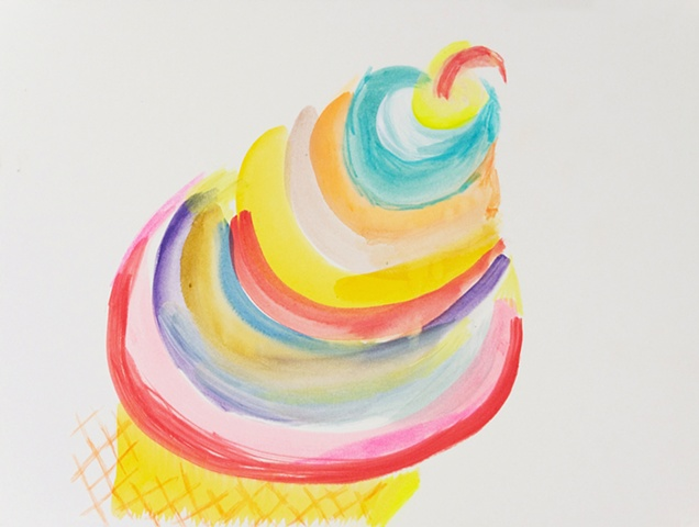 ice cream drawing